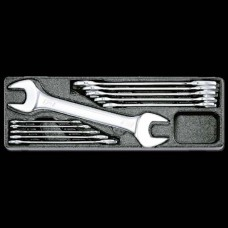 Honiton Double Open Wrench Set - 11pcs