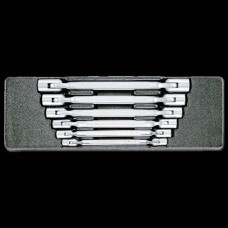 Honiton Double Flexible Socket Wrench Set - 6pc