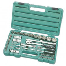 Honiton Socket Set - 56pc - 1/4'' & 1/2'' Dr.