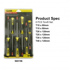 Stanley Cushion Grip 2 Screwdriver Set 65156