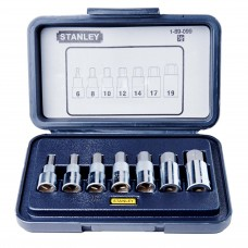 Stanley 7-Piece 1/2'' Drive Hex Bit Socket Set
