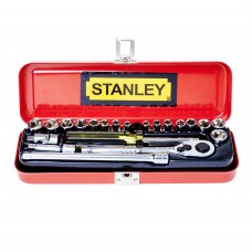 Stanley 21-Piece 1/4'' Drive Socket Set