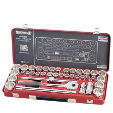 Stanley 37-Piece 1/4'' & 3/8'' Drive Socket Set