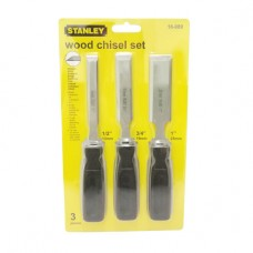 Stanley 150 Series - 3-Piece Wood Chisel Set