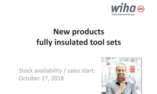 Wiha New Products Fully Insulated Tool Sets