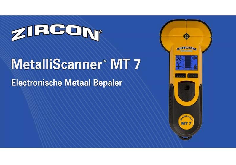 Zircon MetalliScanner™ MT 7 Electronische Metaal bepaler
