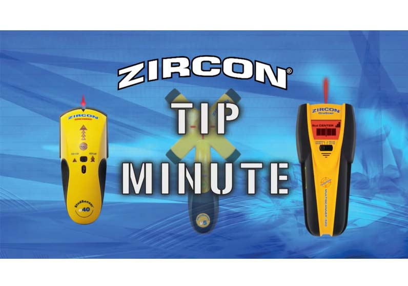 Zircon Tip Minute 5  Avoiding False Positives With Your Stud Finder When Locating Wall Studs