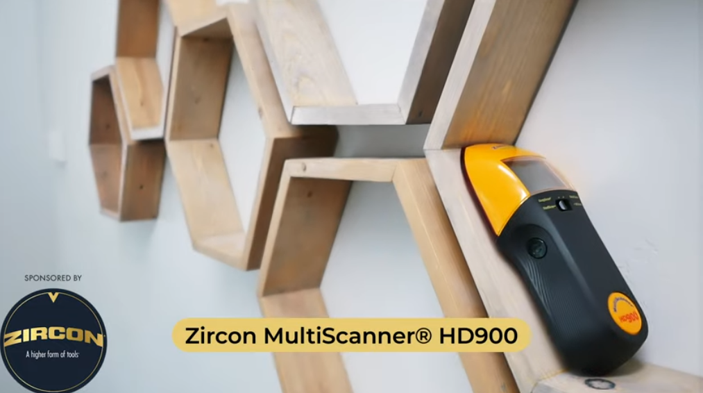 Building Strong Hexagon Shelves using the Zircon MultiScanner® HD900!